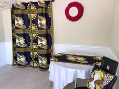 These bold and beautiful African print pillow will be the perfect complement to your couch and the focal point in any room in your home or office.Description:- Two-sided cushions- Fully lined for strong and durable pillows- cotton African fabric-. Ankara Fabric, African Fabric, Curtains Yellow And Blue, African Home Decor, Printed Curtains, Curtain Patterns, Great Housewarming Gifts, Womens Size Chart, Throw Pillow Cases
