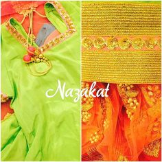 A green anarkali teamed up with a pink dupatta and the bling of gold detailing ❤️ The colour can be customised. Please whatsapp or dm for details. Shipping worldwide. For more designs: www.facebook.com/nazakatjal #parrot #green #pink #candy #pearl #handwork #clientdiaries #beadwork #dupatta #beautiful #awesome #pretty #gorgeous #elegant #loveit #wow #womenwear #women #indian #indianwear #ladies #ladieswear #ethnic #ethnicwear #musthave #dontmiss #nazakat