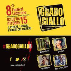 Sabato 3 ottobre il festival letterario #GradoGiallo8 riceverà la visita di 4 Instagramers del #Friuli Venezia Giulia: gli #igers @luatom, @stellefilanti, @faith1204 e @luca_the_simon racconteranno con i loro scatti le attività della manifestazione e la città di #Grado.