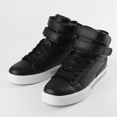 Men's High Top Sneakers Skateboard Ankle Boots Casual Shoes