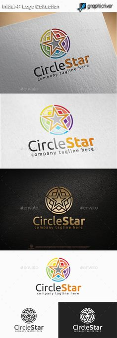Circle Star Logo — Vector EPS #hexagon #business • Available here → https://graphicriver.net/item/circle-star-logo/11085613?ref=pxcr