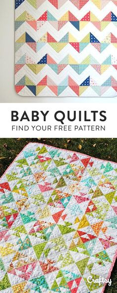 Our most adorable baby quilt patterns for the little one in your life. Did we mention they're 100% free?!
