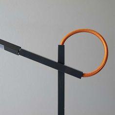 linelight - shibui design: Constantinos Hoursoglou color: grey, white, yellow, red