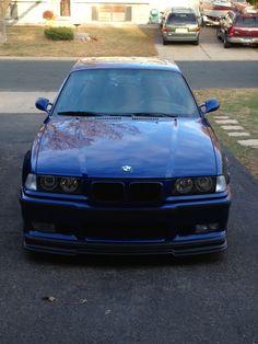 Estoril Blue1997 BMW M3 my hubbys car
