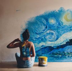 The starry night ✨ van Gogh