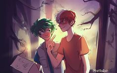 """1,564 Likes, 20 Comments - mint the fool (@mintorio) on Instagram: """"Let's go on an adventure #tododeku #bnha #bokunoheroacademia"""""""
