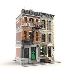 City Layout, Flat Tv, Lego Army, Lego Modular, Lego Construction, Gym Room, Lego Group, Group Of Companies, Lego Moc