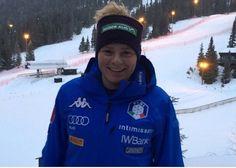Verena Gasslitter, primo podio in Coppa Europa