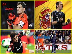 La mano de Casillas