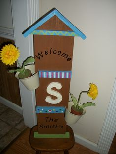 Homemade Wood Craft by Larry and Betty
