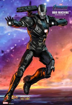 Marvel War Machine Sixth Scale Figure by Hot Toys Iron Man Avengers, Marvel Avengers, Avengers Movies, Marvel Legends, Die Rächer, Super Anime, Iron Man Art, Man Wallpaper, Ghost Busters