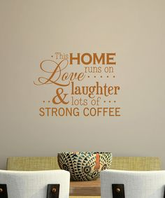 Belvedere Designs Copper 'Love, Laughter' Wall Quote   Daily deals for moms, babies and kids