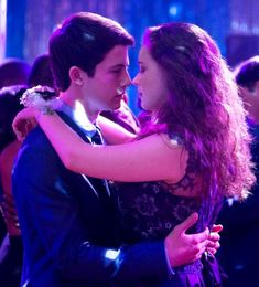 "Clay and Hannah ""13 Reasons Why""."