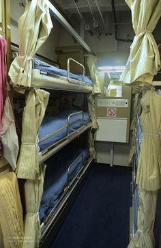 A six person berth within messdeck accommodation for Junior Rates onboard Type 23 frigate HMS Northumberland. Type 23 Frigate, Royal Marines, Royal Navy, Birmingham, Medical, Sleep, Military, Train, Ships