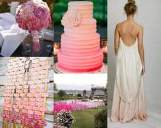 Ombre Wedding Chairs, Bouquet, Seating Chart And More | Bride Ideas