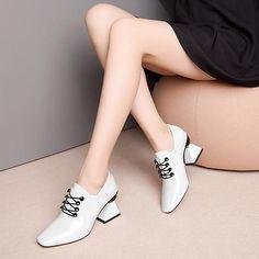 Jul 2019 - Dulce Handmade Novelty Pumps Heels – fyzoeshoe Comfy Heels, Comfortable Shoes, Low Heels, Pumps Heels, Sneakers Fashion, Fashion Shoes, Fashion Dresses, Women's Fashion, Shoes 2018