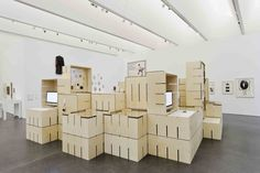 Fluxus Module exhibition at Museum Ostwall by modulorbeat Dortmund – Germany source: retaildesignblog