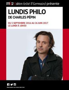 Les « Lundis Philo » de Charles Pépin tous les lundis à 18h15 au MK2 Odéon