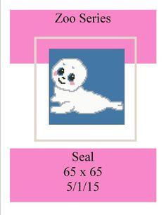 (4) Name: 'Crocheting : Zoo Series Seal