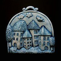 Christmas Time, Christmas Ornaments, Coin Purse, Pottery, Clay, Purses, Holiday Decor, Drawings, Ceramic Art