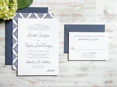La Suite de cazador Invitación de la boda de por DroletPaperie