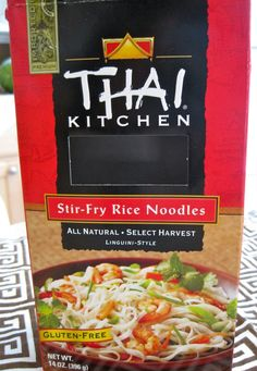 Thai Kitchen Stir-Fry Rice Noodles. #glutenfree