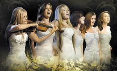 Celtic Women.......there is something about the sound of the old Celtic tunes that just sets me free......amazing talented ladies.