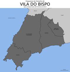 Freguesias do concelho de Vila do Bispo