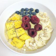 Ontbijten met fruit