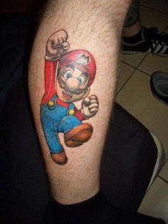 super mario tattoo - Cerca con Google