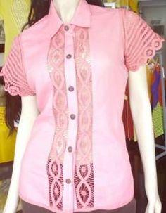 BLUSAS - PRIMAVERAL Bordados y Accesorios Shirt Blouses, Shirts, Corsage, Jeans, Womens Fashion, Dresses, Different Dresses, Women's Clothes, Block Prints