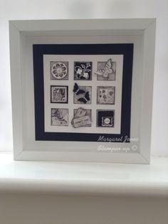 Stampin up framed collage