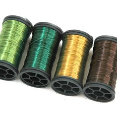 Color wire, artistic wire for wire crochet - FOREST