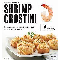Shrimp Crostini - 20 ct. - 13 oz. - Sam's Club