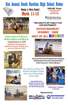 sc rodeo flyer