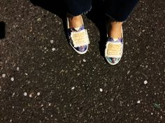 apoly shoes flower & kamo & blue
