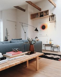 32 Living Room Designs for Small Spaces modern living room inspiration Design Living Room, New Living Room, Small Living Rooms, Living Room Interior, Home Interior Design, Home And Living, Living Room Decor, Danish Living Room, Interior Ideas
