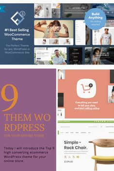 Today I will introduce the Top 9 high converting ecommerce WordPress theme for your online store.  I hope you choose the right one for your online store. Choose The Right, Are You The One, Huge Sale, Selling Online, Your Story, I Hope You, Wordpress Theme, Ecommerce, Store