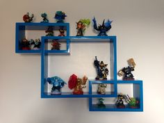 Shelves From Www.amazon.co.uk £24.99 Perfect For Holding Skylanders Figures