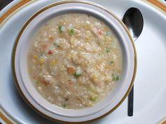 MULTI-GRAIN CONGEE (CHINESE RICE PORRIDGE) (lentils, short-grain white rice, brown rice, wheatberries, oatmeal)