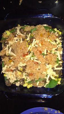 Vegan Mexican Quinoa Bake!!!!