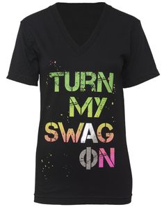 alpha-phi-turn-my-swag-on-v-neck