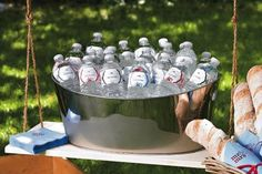 Summer Wedding Tips: Surviving the Heat — Fans, sunscreen, bug spray, shade, water and other things to have on hand.