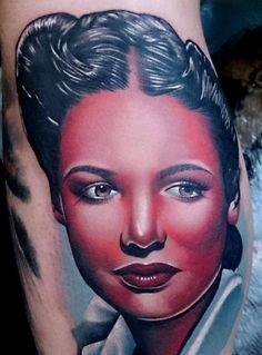 Tattoo done byPhatt German.
