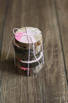 Easy, DIY Log Slice Art | HGTV Design Blog – Design Happens
