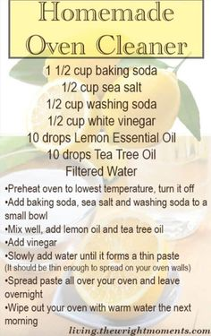 Diy cleaners 332914597437020444 - Chemical Free Oven Cleaner – DIY cleaners with Living Wrightr Source by wrightmoments Homemade Cleaning Supplies, Diy Home Cleaning, Homemade Cleaning Products, Household Cleaning Tips, Oven Cleaning, Cleaning Recipes, House Cleaning Tips, Natural Cleaning Products, Cleaning Hacks