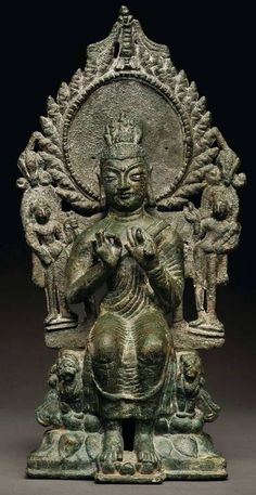 犍陀羅藝術弥勒佛犍陀罗5-6世纪24.6cm.