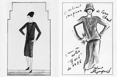 1926 The Little Black Dress is introduced