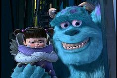 Boo and Sulley
