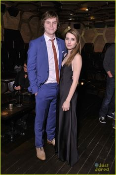 Evan Peters & Emma Roberts! Will always be  Addie Singer and Seth Wosmer to me.